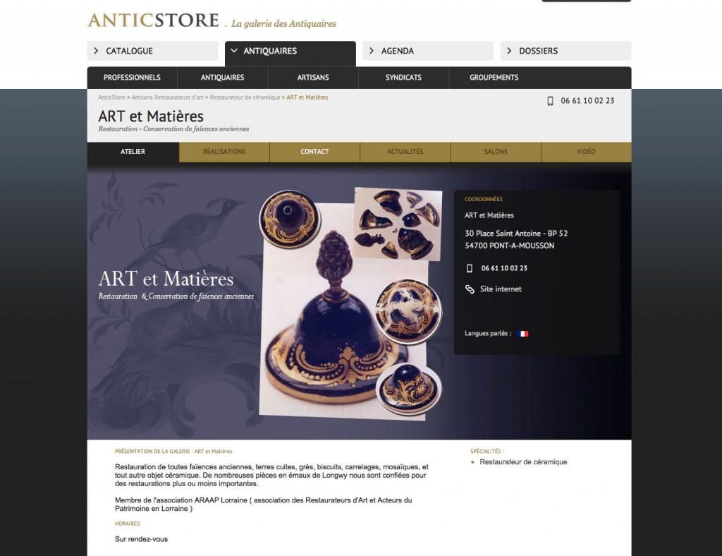 Annuaire Artisans du Patrimoine