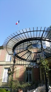 La résidence de M. l'Ambassadeur de France en Suisse